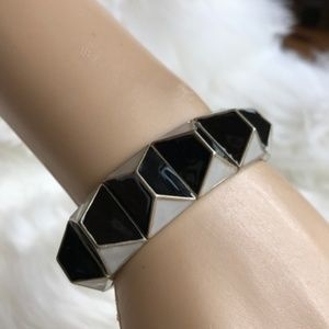 5/$25 J. Crew Stretch Geometric Bracelet